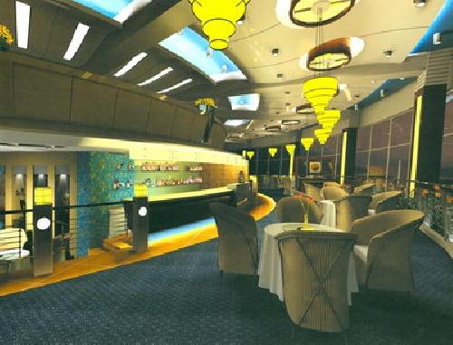 فایل مکس داخلی Modern Style Restaurant Design