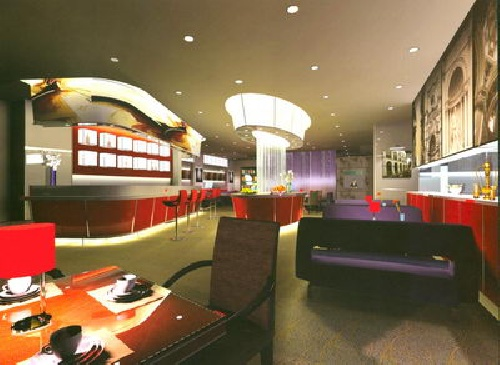فایل مکس داخلی رستوران Indoor Design