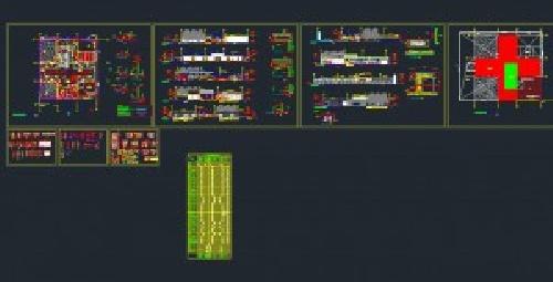 10 نقشه درمانی، پلی کلینیک ،بیمارستان   ( silver )