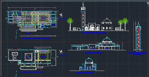 پلان مسجد (تیپ 11)