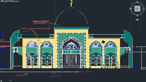 پلان مسجد (تیپ 13)