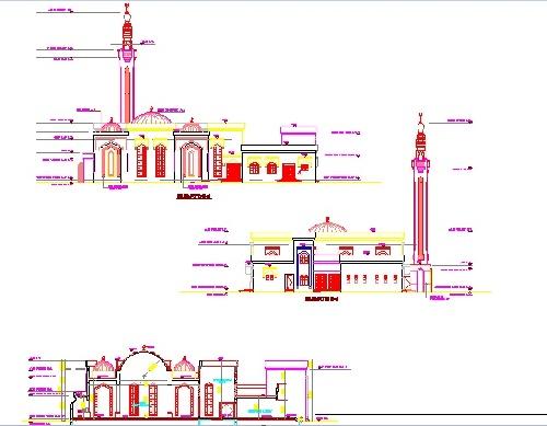 پلان مسجد (تیپ 18)