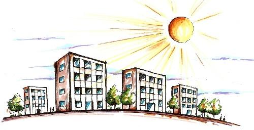 مطالعات کالبدی طراحی مجتمع های مسکونی