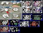 مجموعه نقشه های کد پروژه های وسیع  و بزرگ مقیاس ---------55 پروژه مختلف